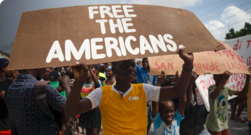 kidnapping of American and Canadian missionaries in Haiti over the weekend.