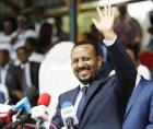 Ethipia's Prime Minister Abiy Ahmed President addresses the public in Ambo, Oromia,