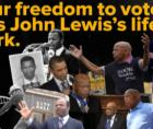 """""""H.R. 4, the 'John R. Lewis Voting Rights Advancement Act of 2021,' would revitalize and strengthen the Voting Rights Act of 196"""