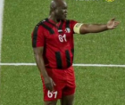 Suriname's 60-year-old vice president, Ronnie Brunswijk, recently played a continental competitive soccer match