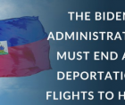 escalation of Haitian deportations and expulsions and the inhumane treatment of Haitians