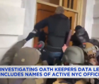 New York law enforcement officers and public officials—including at least two active members of the NYPD—to a far-right, anti-go