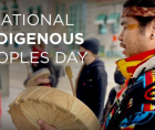In recognition of Indigenous Peoples' Day