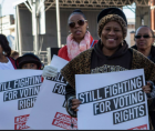 redistricting plan breaks up the geographically compact and politically cohesive Black community of East St. Louis.