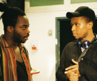 PLAY IT SAFE, Mitch Kalisa's (above right) short film exposing implicit racism in a London drama school,