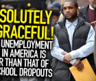 The Black–white unemployment ratio at the national level rose to 1.9.