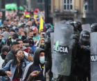 state killings of Colombian protestors and the hundreds more injured in recent demonstrations against anti-working class reforms