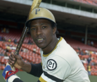 Rennie Stennett, who set a Major League record that still stands by going 7-for-7 in a nine-inning game