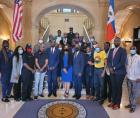 On Thursday, September 23, 2021, as chairman of the People's Organization For Progress, I stood with elected officials and commu