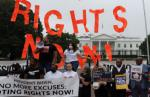 Republicans on Wednesday again blocked Democrats from advancing sweeping federal voting rights legislation,