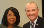 Governor Phil Murphy and Lt. Governor Sheila Oliver