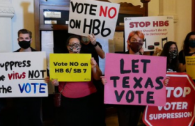 Texas's long history of voter suppression