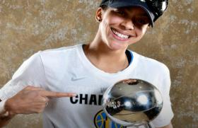 Chicago Sky's WNBA championship win Tuesday. Among the most proud was Candace Parker's mom, Sara.