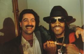 Photo of Sal Abbatiello and Melle Mel courtesy of Sal Abbatiello