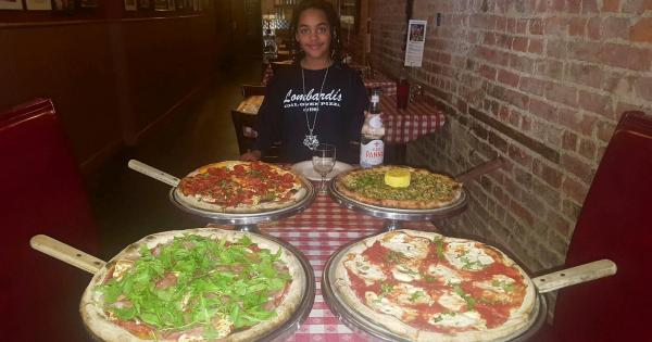 The Mecca Of Pizza Lombardis In Little Italy Nyc Black