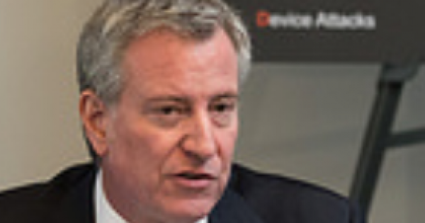 Mayor Bill de Blasio's Criminal Justice Director Busted for Gun Possession