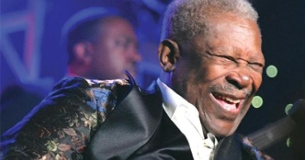 B.B. King at Lehman Center in the Bronx