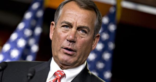 Speaker John Boehner lost control of his Republican troops