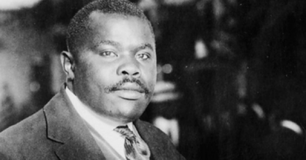 marcus garvey thesis