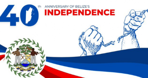 Belize on its 40th Anniversary of Independence