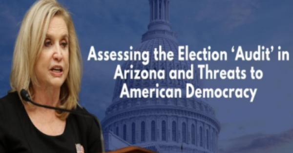 """House Oversight Committee Hearing Exposes Fraudulent Arizona """"Audit"""" Aimed At Undermining Elections"""