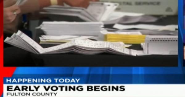fired two workers accused of shredding paper voter registration applications