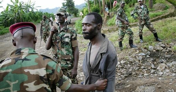 M23 terrorists abusing Congolese