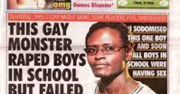 Uganda's Red Pepper tabloid,
