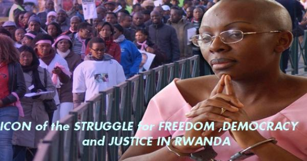 Victoire Ingabire, icon of freedom and democracy in Africa