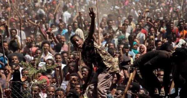The Ethiopian people have shown an overwhelmingly strong commitment to peaceful demonstrations of protest, despite harsh crackdowns over the last three years, with only a few exceptions.