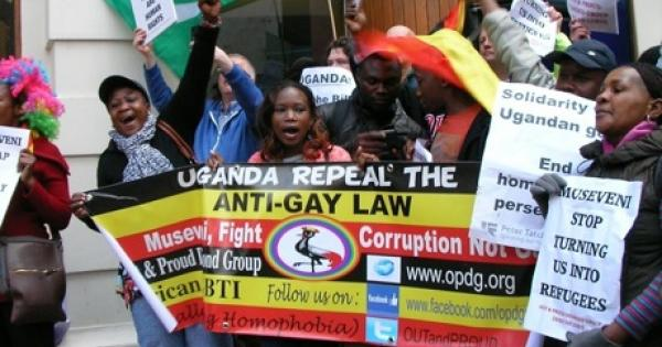 Uganda anti homosexuality legislation