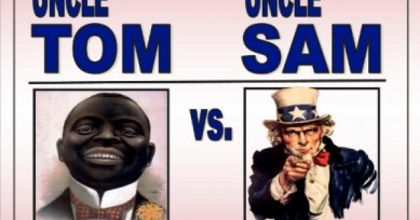 uncle tom vs. uncle sam play flyer