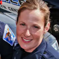 murder of Daunte Wright by Minnesota police officer Kim Potter (above), not far from where Derek Chauvin is being tried for murd