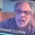 Howard Zlotkin of North Bergen lost his rabid mind via Zoom as a discussion on climate change lead to an all-out attack on Georg