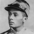 Black horse race jockeys, like Issac Murphy
