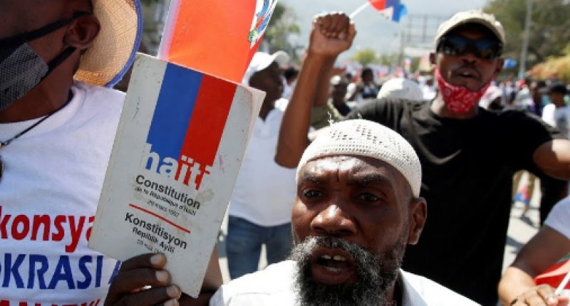 The people in Haiti had been protesting consistently, starting in 2018 with protests against Jovenel Moïse because of the PetroC