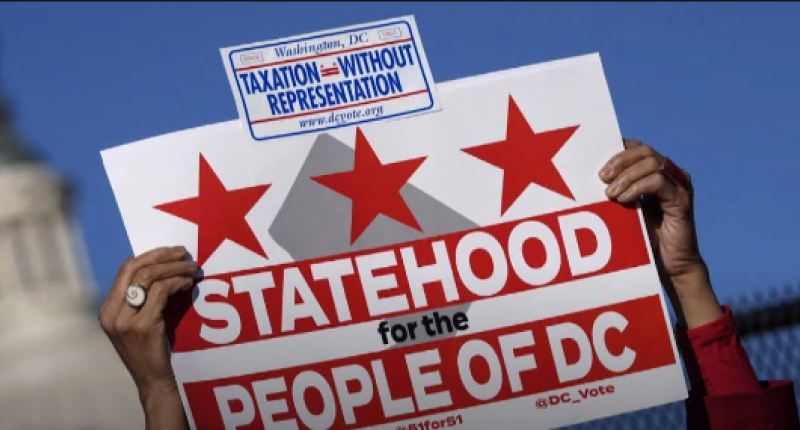 supporting the District of Columbia statehood bill