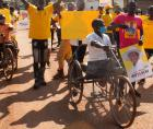 Disabled Persons in Gulu City
