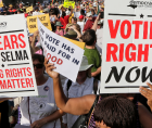 """August 28, Americans who believe in the power of democracy and free elections will embark on a historic """"March On for Voting Ri"""
