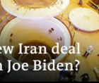 Congressional review of the next Iran deal, knowing that Biden's intent is to follow Obama's example