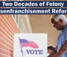 state felony disenfranchisement laws that disproportionately affect Black citizens.