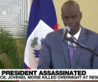 Haiti's President Jovenel Moise was killed during an attack on his private residence early on Wednesday