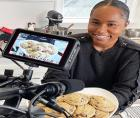 Lara Adekoya, a 28-year old Black woman entrepreneur from Los Angeles, launched Fleurs et Sel, a cookie company