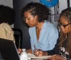 BRIC and African Voices/Reel Sisters are pleased to formally announce their partnership in co-presenting Scriptwriting Essential