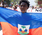 """""""As an ally to Haiti and the Haitian people, the United States must immediately advance domestic policy that protects the Haitia"""