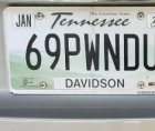 In Tennessee, Leah Gilliam filed a lawsuit in state court because her vanity plate was revoked after ten years of use for being