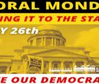 Monday, July 26, the Poor People's Campaign will join partners around the nation to take the fight for democracy to the home off