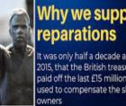 Caribbean nation said they are asking Great Britain to pay $10.6 billion (USD) in Reparations.
