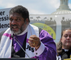 Rev. Dr. William J. Barber II, co-chair of the Poor People's Campaign
