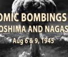 1945 atomic bombings of Hiroshima and Nagasaki during WW II---the only time nuclear weapons were used against human targets.